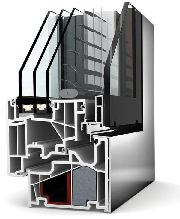 Комбинированные окна, дерево-алюминиевые окна, пластико-алюминиевые окна