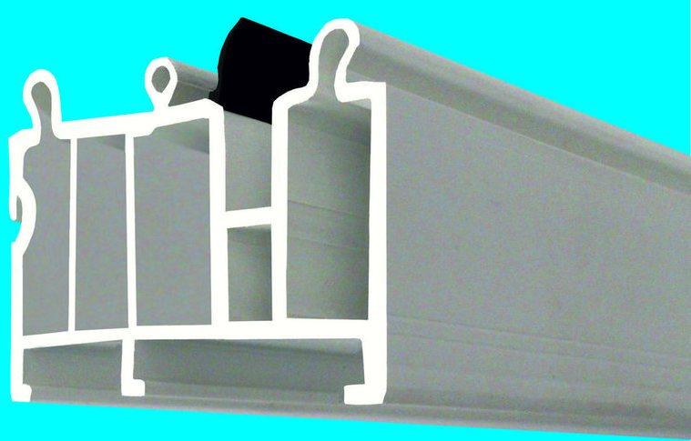 Подставочный профиль SA01, Metal-Plast, монтаж ПВХ окон вместе с подоконником