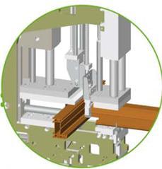Стыковая сварка рамы и импоста с центральным уплотнителем, URBAN