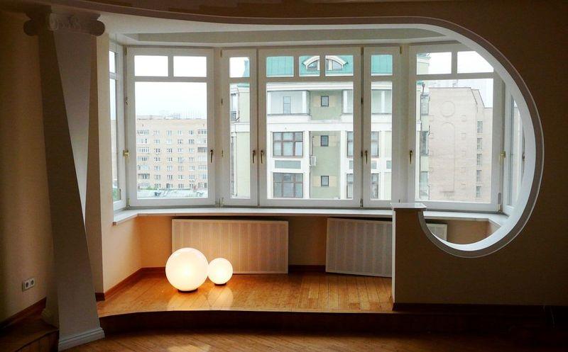 Фото: перепланировка с объединением комнаты и балкона запрещена в большинстве случаев